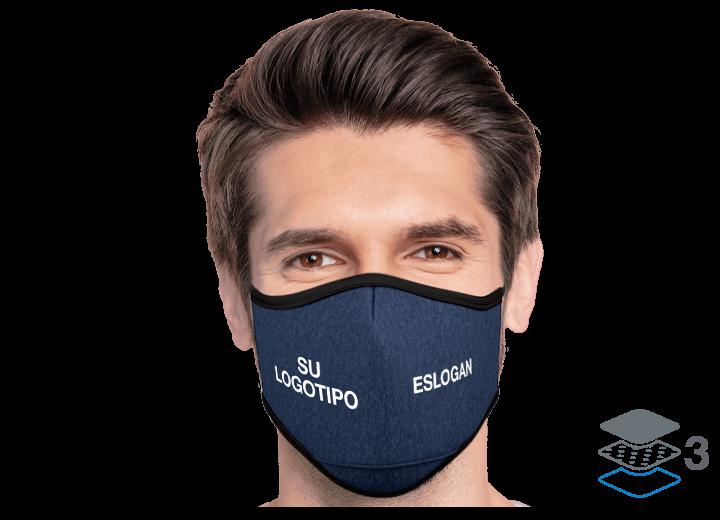 Denim - Mascarilla Personalizable